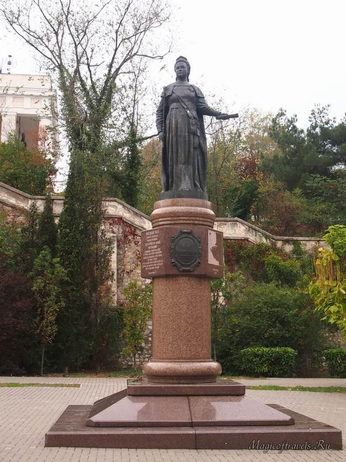 Основательница Севастополя Екатерина II